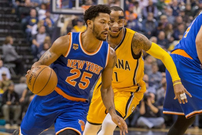 New York Knicks: Derrick Rose is back with the team