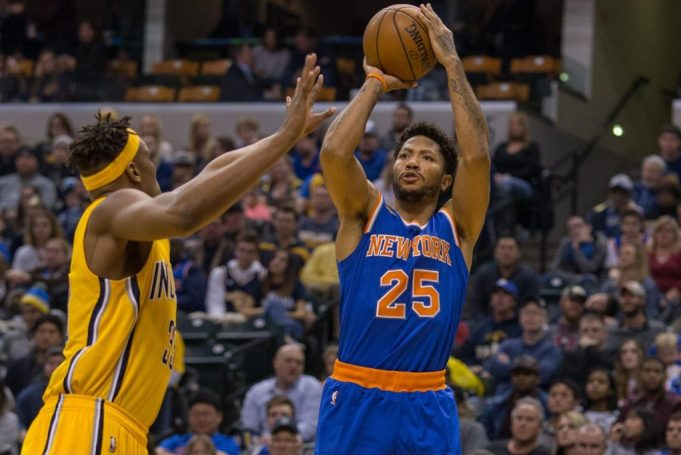 The New York Knicks get blown out and nobody knows where Derrick Rose is