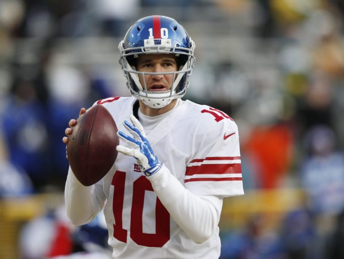 New York Giants' Eli Manning on Odell Beckham Jr.: He's 'got to back it up'