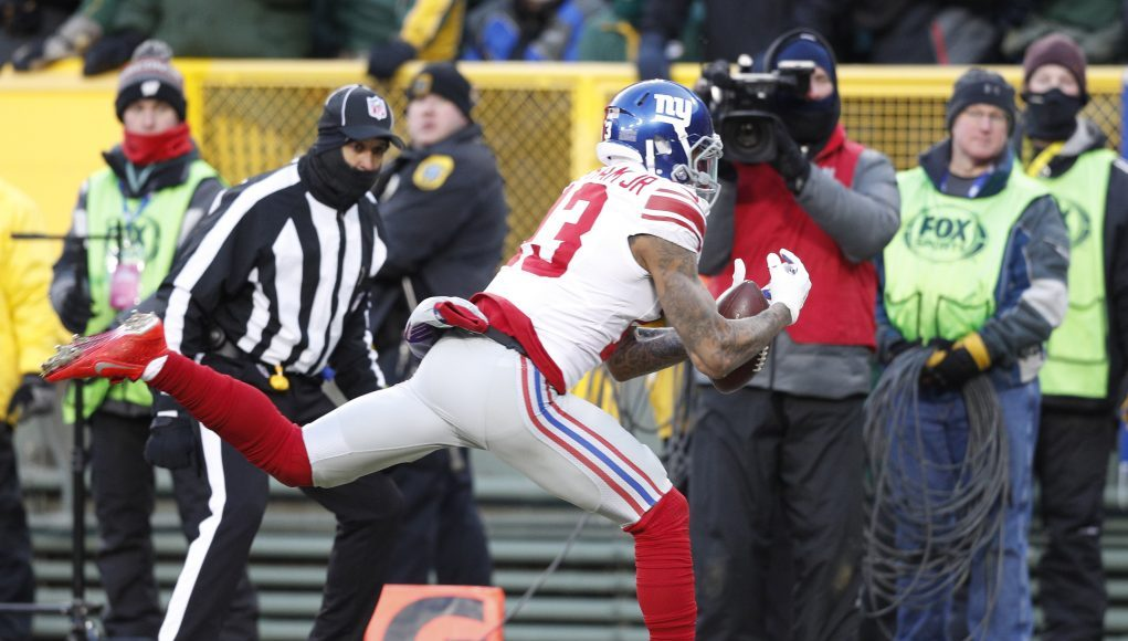 Odell Beckham Jr., New York Giants drop playoff opportunity against Packers (Highlights)
