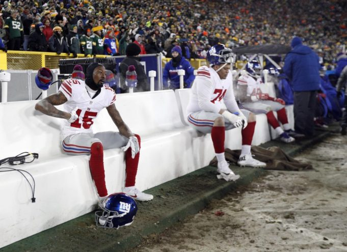 New York Giants trash plane after loss to Green Bay Packers (Report)