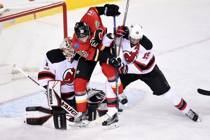New Jersey Devils play strong 60 minutes, beat Calgary Flames 2-1 (Highlights)