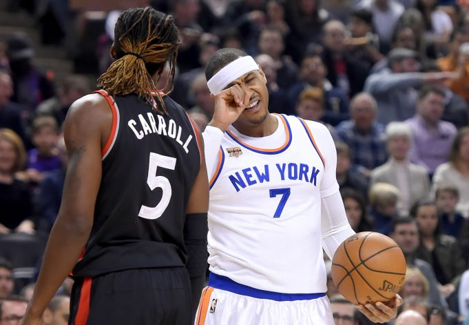 New York Knicks' Carmelo Anthony is thankful for 'the hate' 1