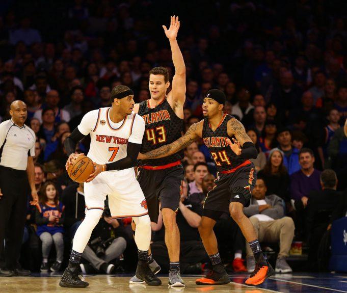 New York Knicks: Carmelo Anthony moving past the Phil Jackson drama