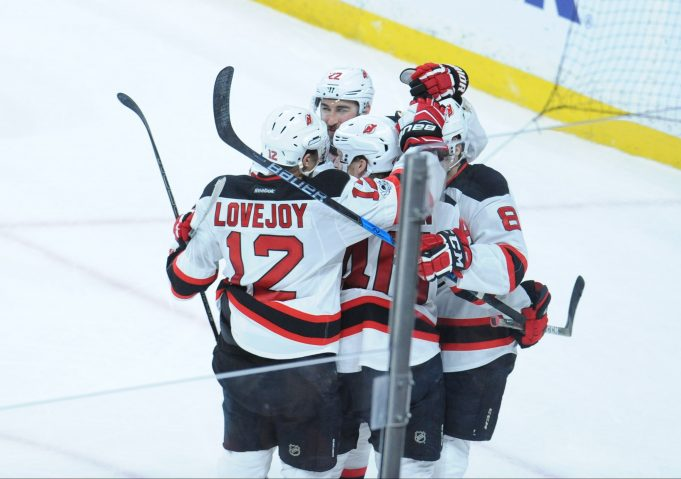 Red-hot New Jersey Devils overcome deficit, take game late in Minnesota (Highlights)