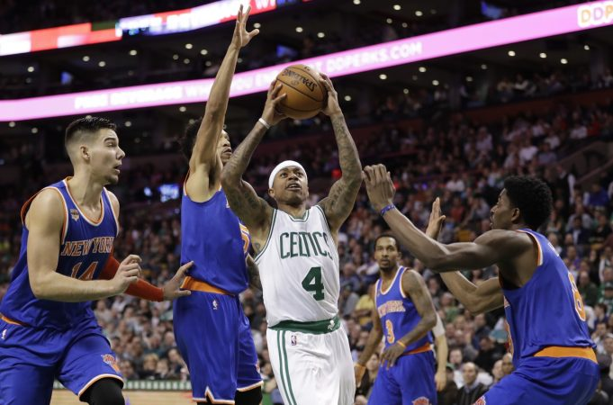 New York Knicks: A closer look at what the bench did against the Boston Celtics