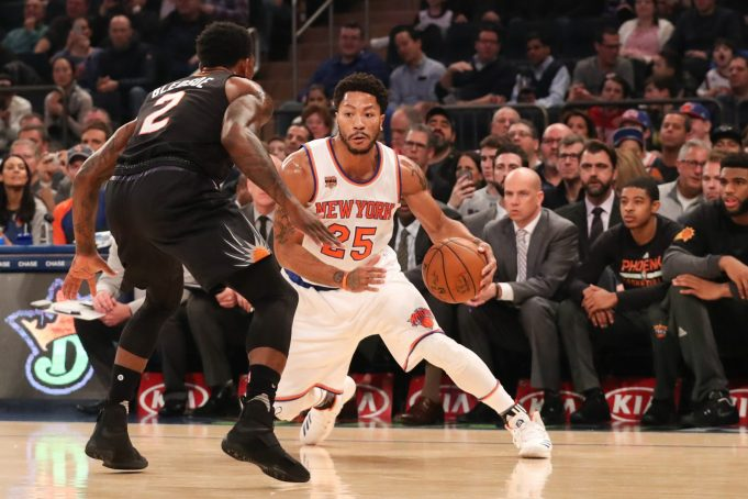 New York Knicks: Derrick Rose could miss multiple games with ankle sprain (Report)