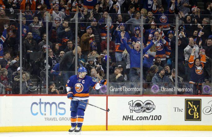 New York Islanders chase Bobrovsky, stun Jackets in statement win