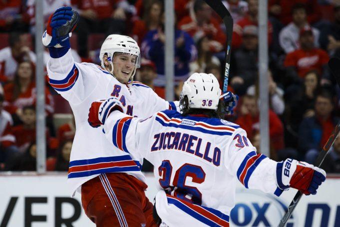 Henrik Lundqvist, New York Rangers slip past the Wings in OT (Highlights)