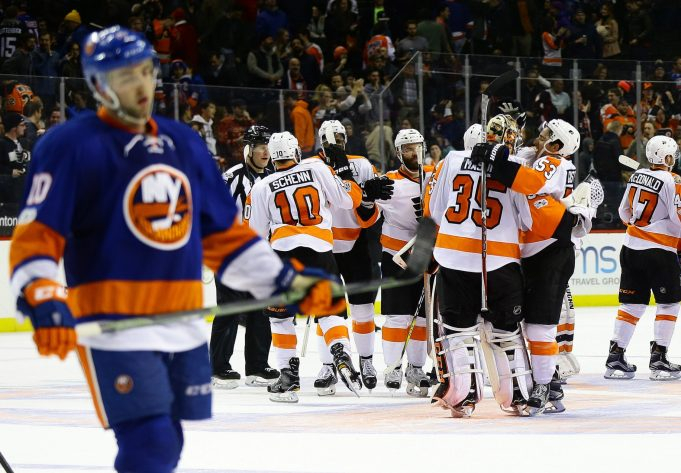 New York Islanders blow second 2-0 lead, lose in OT to Flyers (Highlights)
