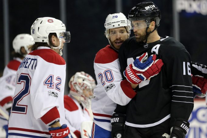 Andrew Ladd strikes twice as New York Islanders extend point streak