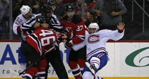 New Jersey Devils: Karl Stollery's hit was a questionable major 2