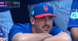 New York Mets starting pitchers grow mustaches (Photo)