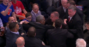 If only the New York Knicks possessed as much passion as Charles Oakley (Video)