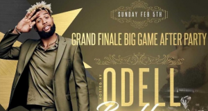 Look: Odell Beckham Jr. made it to the Super Bowl after all (Photo)