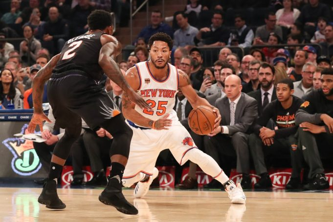 Knicks Injury Report: Derrick Rose (ankle) questionable against Cavs on Saturday