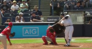 New York Yankees: Aaron Judge drills the scoreboard on a moonshot (Video)