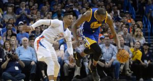 Russell Westbrook and Kevin Durant talked trash and it was amazing