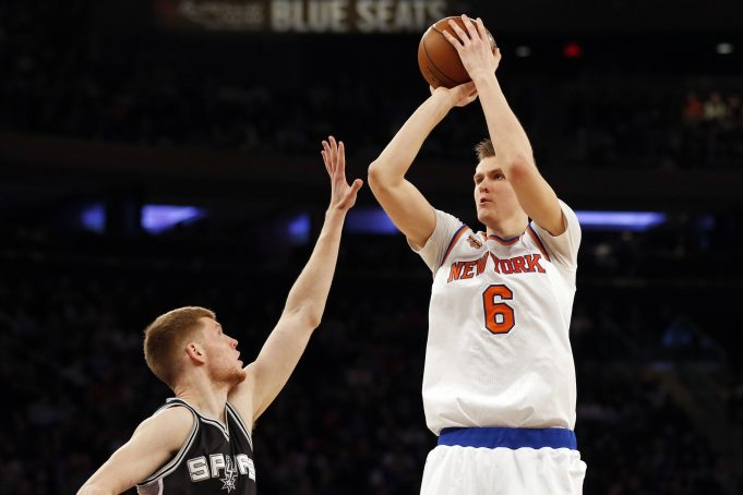 New York Knicks injury report: Kristaps Porzingis (ankle sprain) says he's 'good to go' on Wednesday