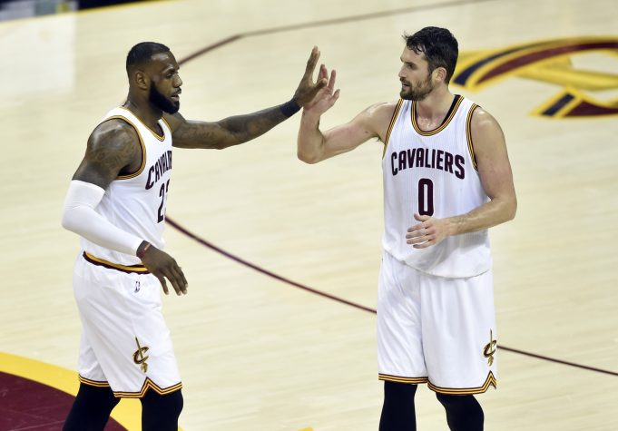 LeBron James: New York Daily News' Frank Isola is 'trash' for Kevin Love report