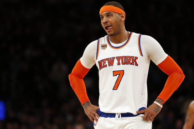 New York Knicks stun Spurs behind huge second half from Carmelo Anthony 2