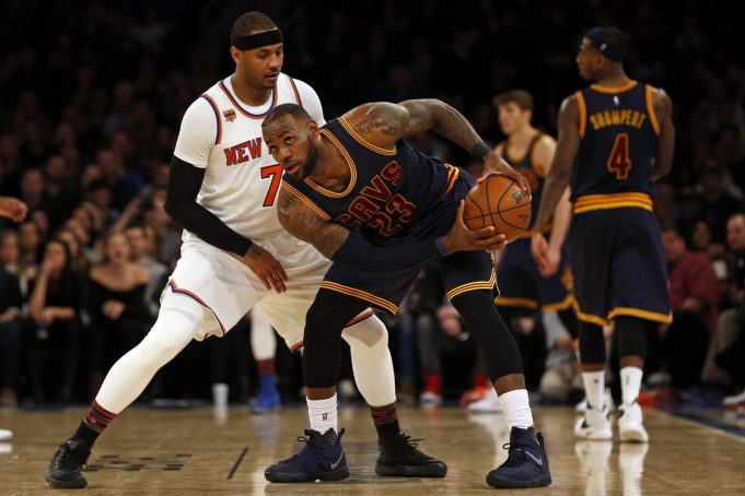 LeBron James wants Carmelo Anthony, even if it means trading Kevin Love (Report)