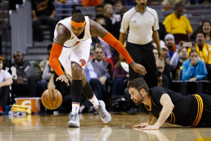 New York Knicks vs. Cleveland Cavaliers: Carmelo Anthony or Kevin Love?