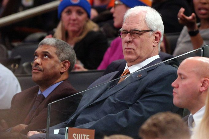 Knicks: Phil Jackson's latest shot at Carmelo Anthony was a weird tweet