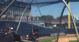 New York Yankees: Gary Sanchez sends one to the scoreboard (Video)
