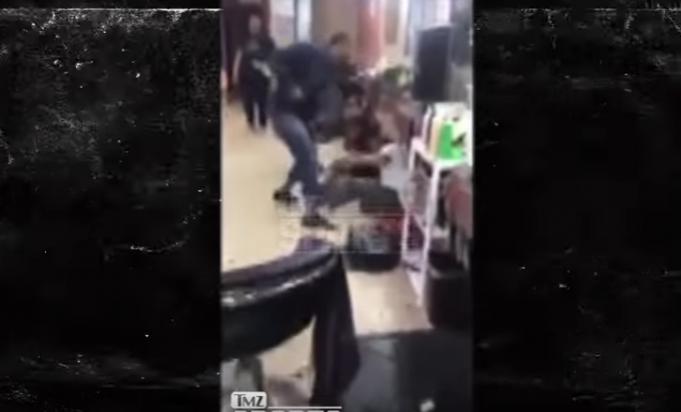Gay boxer Yusaf Mack beats down Twitter tormentor (video)