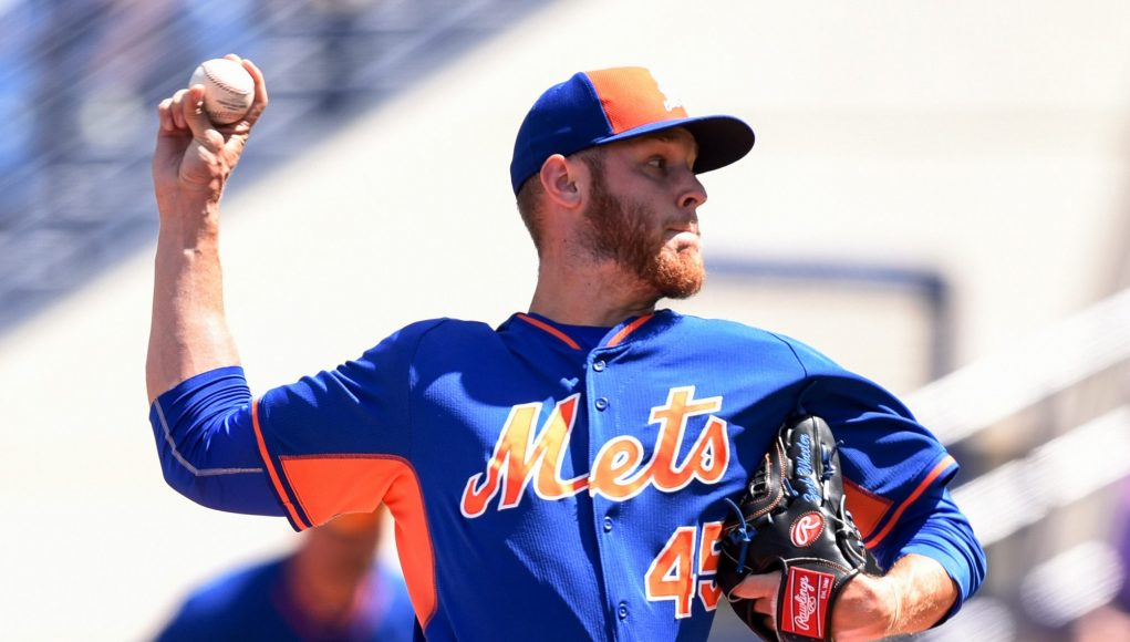 New York Mets' Zack Wheeler having Tommy John complications, again