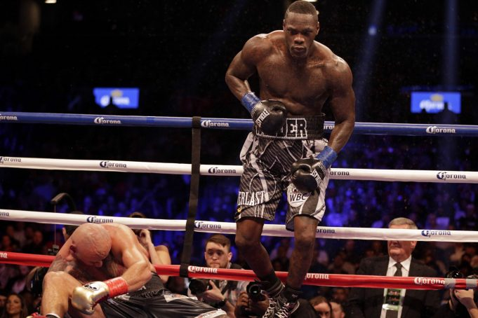 Anthony Joshua to Deontay Wilder: Step your game up!