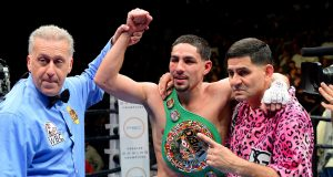 Danny Garcia cries while discussing dad's prison stint, being homeless as a child (video)