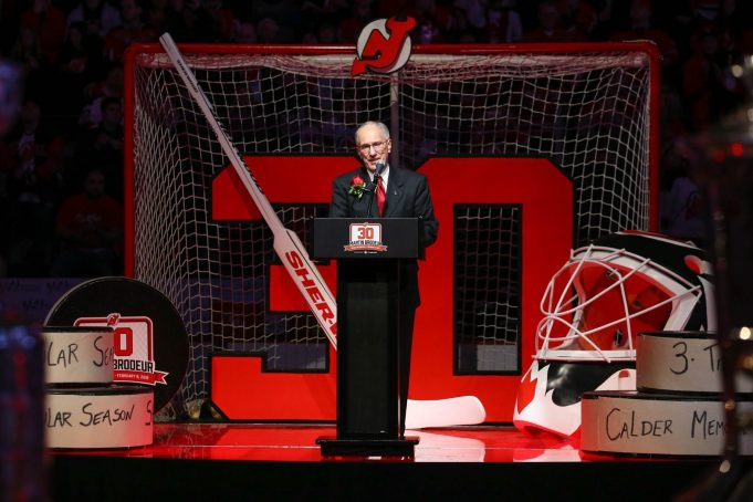 Which New Jersey Devils should have their number retired?