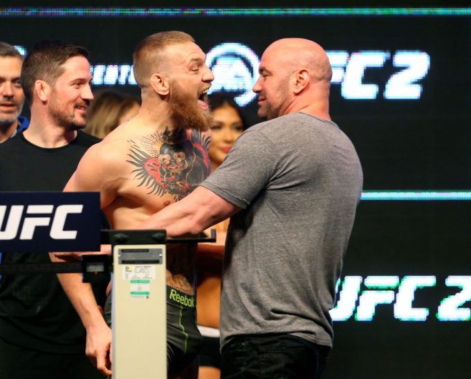 Conor McGregor hints he'd ditch UFC for a Floyd Mayweather fight