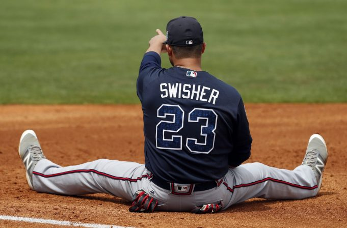 Former New York Yankees outfielder Nick Swisher officially calls it a career