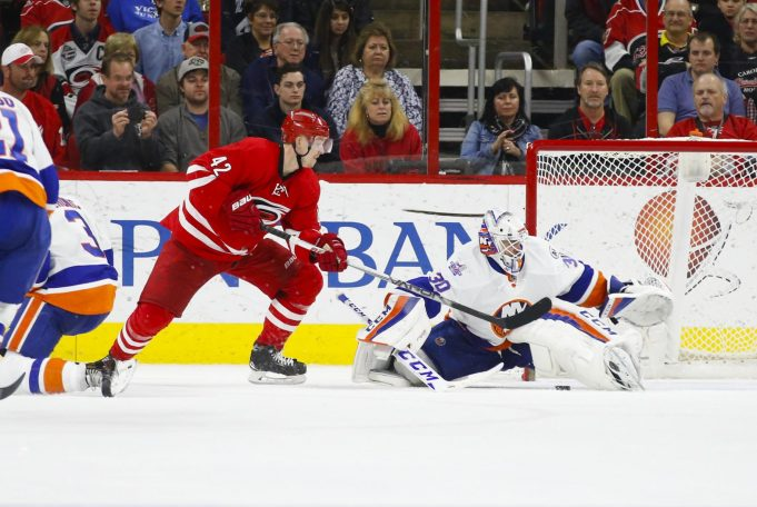 Similar script follows the New York Islanders in 5-4 loss in OT to Hurricanes (Highlights)