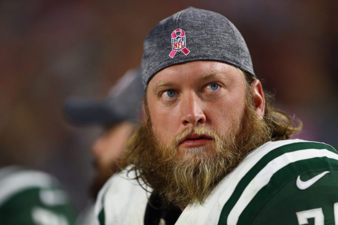 Nick Mangold announces his release from the New York Jets