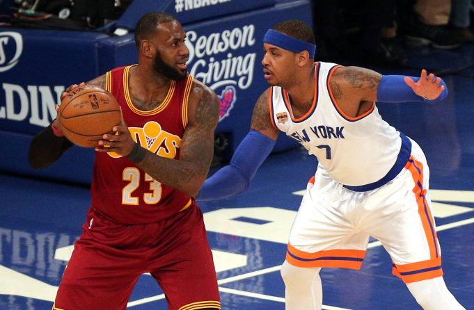 LeBron James comments on Carmelo Anthony trade rumors