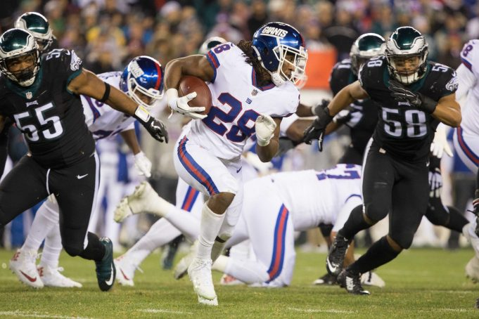 New York Giants: Can Paul Perkins be a feature back?
