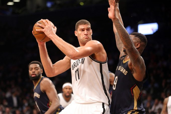 Report: New Orleans Pelicans eyeing Nets' Brook Lopez