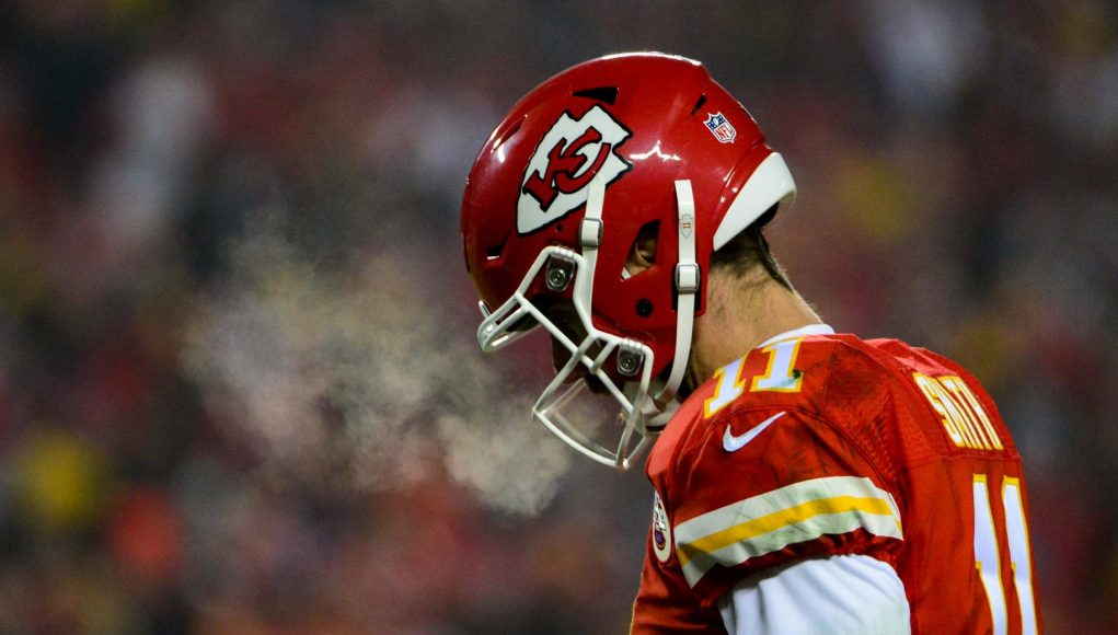A new quarterback, Alex Smith, enters the conversation for the New York Jets