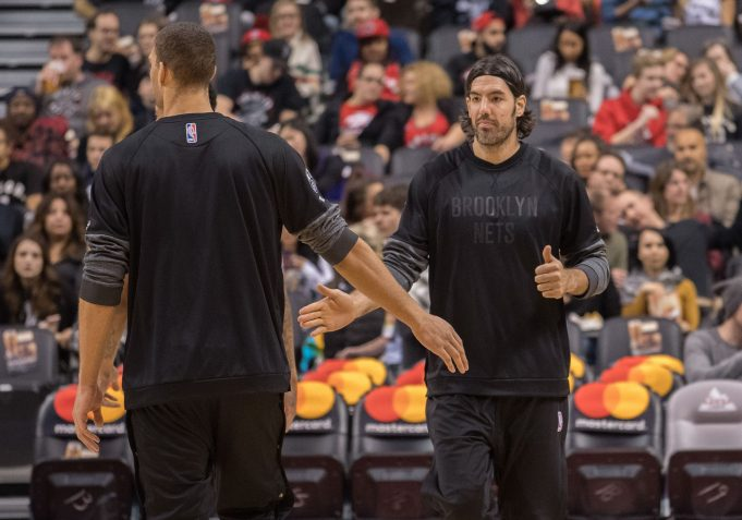 Report: Brooklyn Nets waiving power forward Luis Scola
