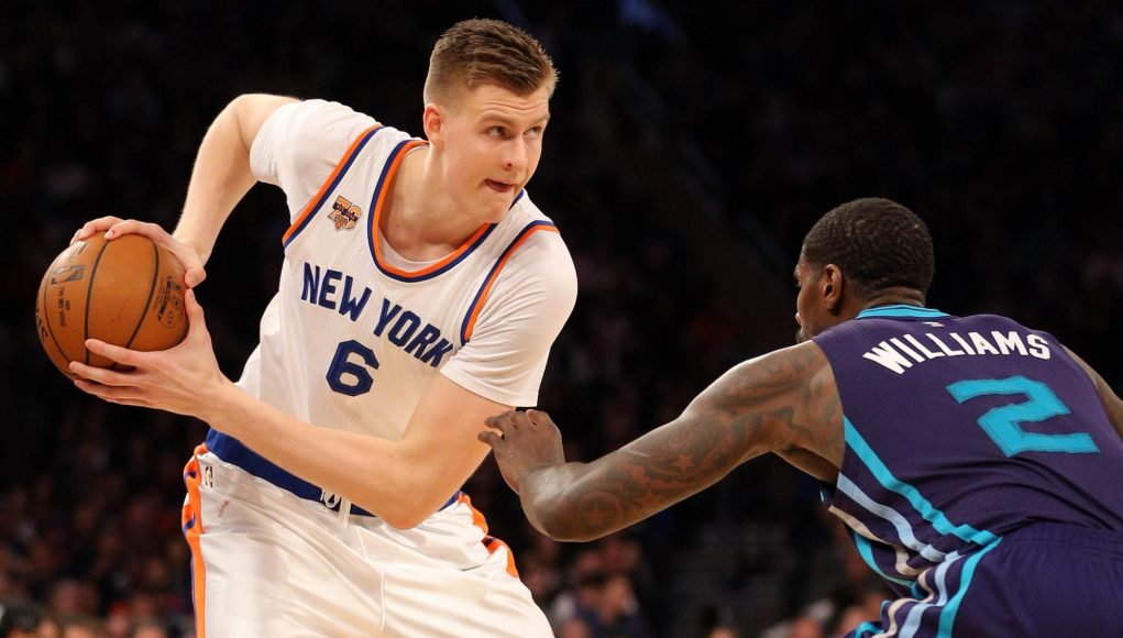 The New York Knicks are at fault for the regression of Kristaps Porzingis