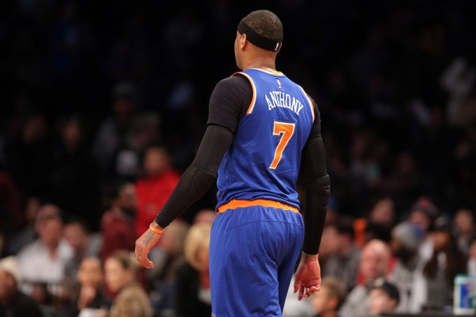 The New York Knicks trading Carmelo Anthony to Boston Celtics works perfectly for both parties 6