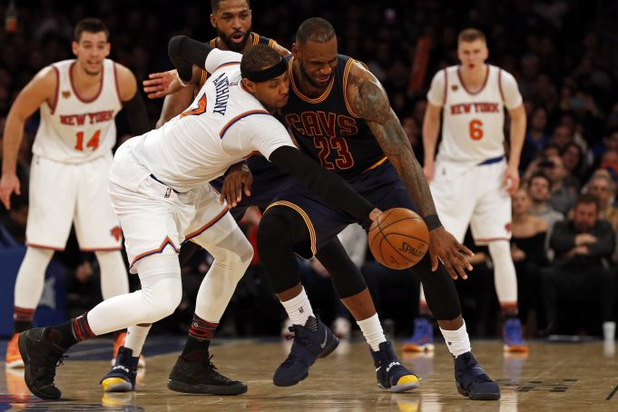 Fourth quarter rally is too little too late as New York Knicks fall to Cavs 2