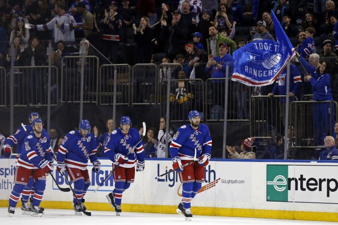 New York Rangers 4, Calgary Flames 3: Third period offense leads the way (Highlights)
