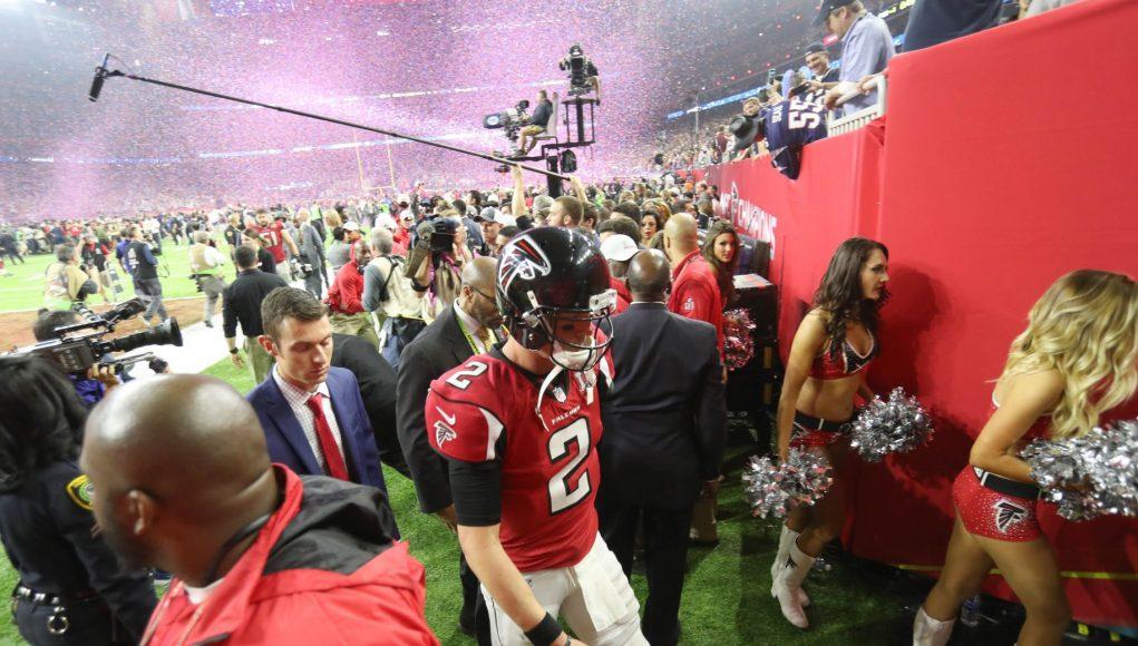 The Atlanta Falcons literally handed Tom Brady the Vince Lombardi Trophy