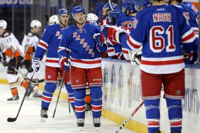 New York Rangers ride balance in win over Anaheim Ducks (Highlights)