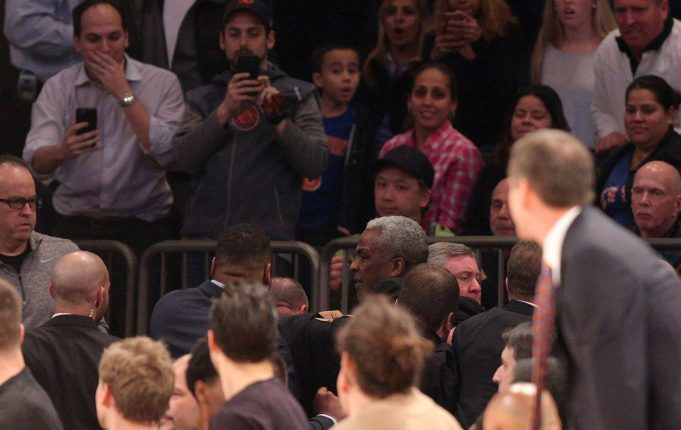 Charles Oakley's ejection related to outburst towards owner Jim Dolan (Report)
